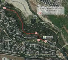 Boise Greenbelt Map Greenbelt Closure Planned From Barber Park To Park Center Bridge