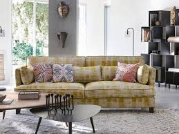 canape boheme 20 fauteuils et canapés jaunes pour le salon joli place