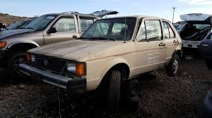 junkyard treasure 1981 volkswagen rabbit diesel