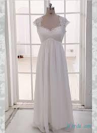 wedding dresses chiffon sleeves high cut wedding dresses