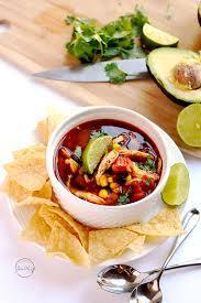 cooking light chicken tortilla soup instant pot chicken tortilla soup a pinch of healthy