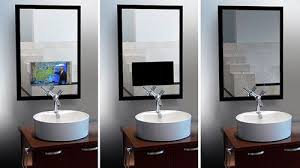 Mirror Tv Bathroom Mirror Tv For The Ultimate Vanity Cnet