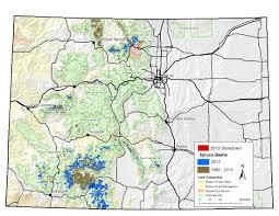 Colorado National Forest Map by Region 2 Forest U0026 Grassland Health