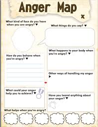 anger map kids worksheet free printable therapy for kids