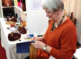 Wisley Gardens Craft Fair - six exhibitors six days christmas contemporary craft and