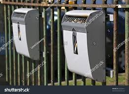 Disposal Of Kitchen Knives Outdoor Ashtrays Disposal Cigarettes Before Entering Stock Photo