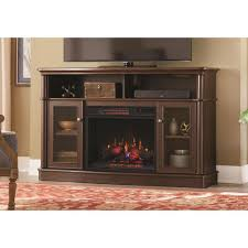 infrared brown fireplace tv stands electric fireplaces the