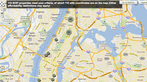 New York On The Map by Cool Map Thing Charts New York City U0027s Affordable Housing Curbed Ny