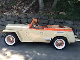 willys overland logo 1950 willys overland jeepster for sale classiccars com cc 717993