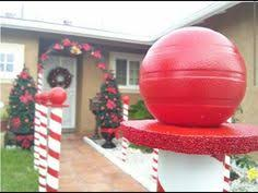 Christmas Decorations Outdoor Youtube by Diy Christmas Ideas Make A Tree Of Lights Using A Basketball Pole