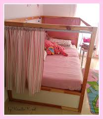 Ikea Pink Curtains Curtain For Ikea Kura Bed Decorate The House With Beautiful Curtains