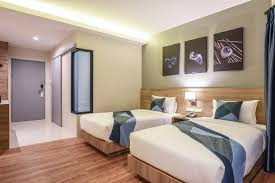 Twin Bed Hotel by Twin Bed Room Blue Rabbit Hotel
