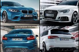 audi rs 3 photo comparison bmw m2 vs audi rs3 sportback facelift
