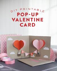holidays diy valentines day make your own diy pop up card today