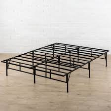 Cal King Bed Frame Zinus 14 In California King Easy To Assemble Smartbase Mattress