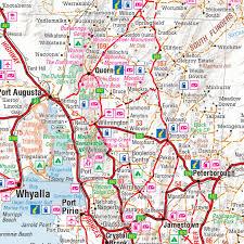 austrial map south australia hema state map buy map of south australia mapworld