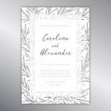 Wedding Announcement Template Wedding Invitations Vector Vectors Photos And Psd Files Free