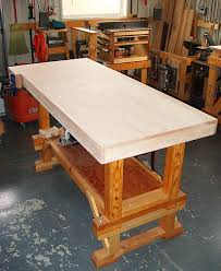 Building Woodworking Bench Contentment By Design Woodworking Projects Workbench