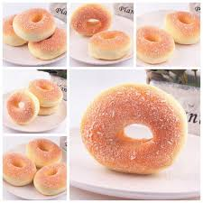 cuisine simulation squishy bagels bread breadcrumb scented food simulation dining decor