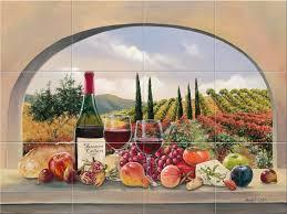 Murals For Kitchen Backsplash Kitchen Kitchen Murals Design Muriels Menu Soho Book