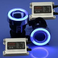 hid fog light ballast dual swtiches wiring harness 35w ac ballasts blue ccfl angel eye