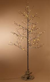 everlasting glow led lights red berry lighted tree lighted trees birch and artificial tree