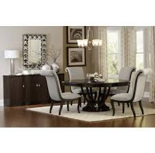 Round Espresso Dining Table Savion Espresso Dining Room Furniture Collection For 399 94