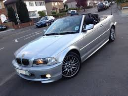 bmw 330 ci m sport e46 330ci convertible with hardtop only70k s h
