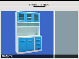 guangzhou high end knock down kitchen cabinets free standing