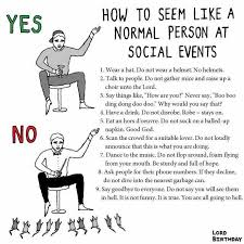 Normal Hn dopl3r memes how to seem like a normal person at social