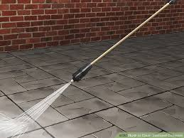 Stamped Concrete Patio Maintenance 3 Ways To Clean Stamped Concrete Wikihow