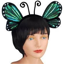 butterfly antennae headband loftus butterfly antenna costume headband blue