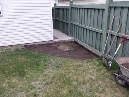 how i tried to fix the drainage problem in my yard album on imgur