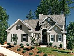new american house plans charming and stucco cottage hwbdo12764 new american from
