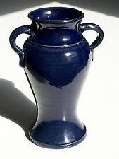 Bauer Vase Blue Bauer China U0026 Dinnerware Ebay