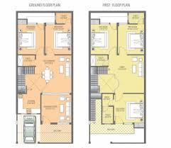 house plan floor plan vibrant pink city buildcon llp naman villas