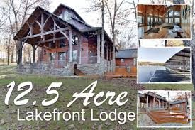 beautiful branson lake cabins and homes for sale lakefront