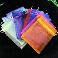 wholesale organza bags aliexpress buy wholesale organza bags 7x9 cm wedding pouches