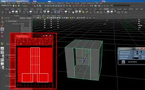 super mirror geometry for maya poly tools modeling scripts