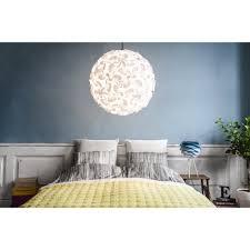 White Ceiling Pendant Light Lora Ceiling Pendant L Shade White Black By Design