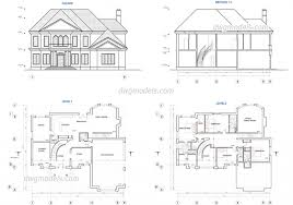 Drawing House Plans Free Hostel Building Plans Autocad Drawing Free Downloadundreds Ofouse