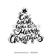 we wish you merry text stock vector 726464635