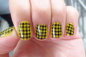 yellow design nails best design ideas