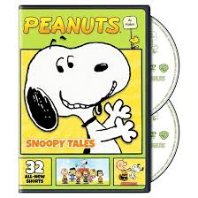 peanuts schulz snoopy tales dvd target