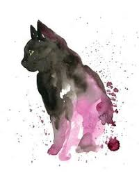 watercolor cats my love of all things furry and feathery