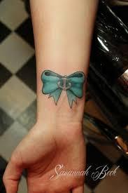 small bow tattoo designs tattoos cute wrist bow tattoos