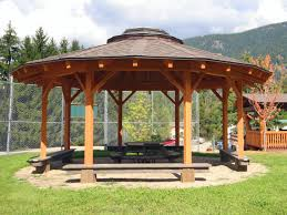 Showing Post  Media For Round Wooden Gazebo Designs Www - Gazebo designs for backyards