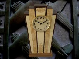 Mantle Clock Kits Art Deco Mantle Clock With Wood Dial With Free Shipping Mc40
