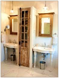 Bathroom Pedestal Sink Storage Cabinet by An Ikea Doorfront Nightstand Became Powder Room Storage We Used
