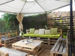 Pallet Patio Ideas Lovely Ideas Outdoor Furniture Made From Pallets Imposing Diy